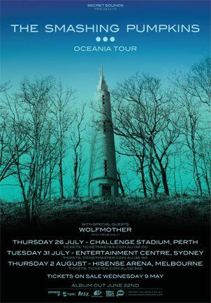 The Smashing Pumpkins  Oceania tour