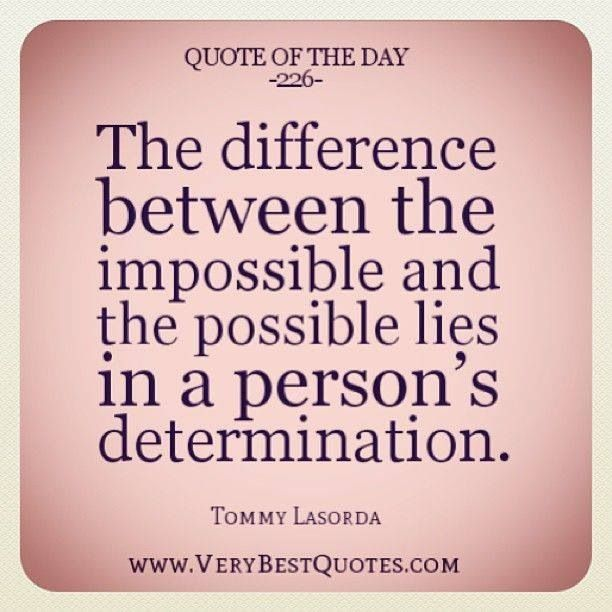 Determination Quotes. QuotesGram