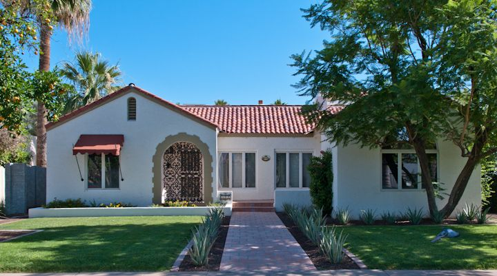 Chpt 14 spanish colonial revival house architecture for Revival home