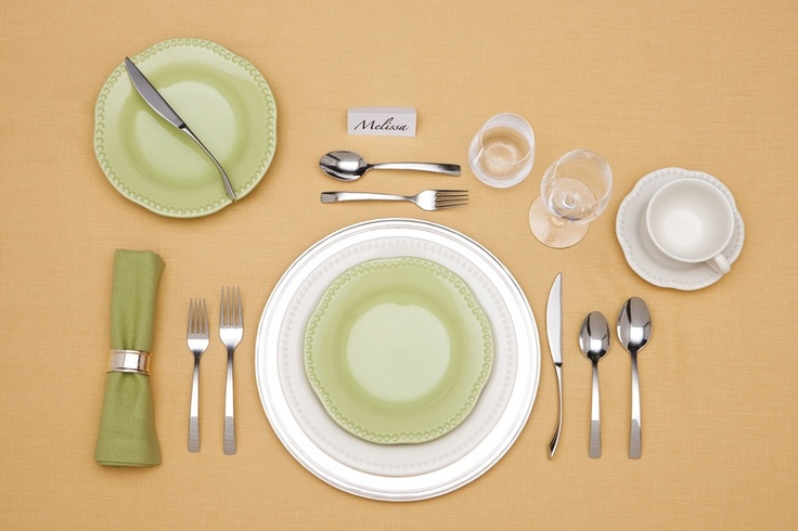 Set The Stage Basic Table Setting