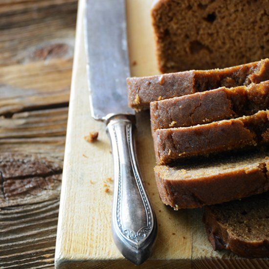 Date Loaf Cake, a deliciously spiced and easy to make quick bread.