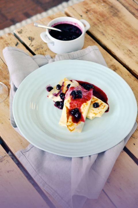 Tasty Treats: Recipe for Blueberry Blintzes | Adapted from Martha ...