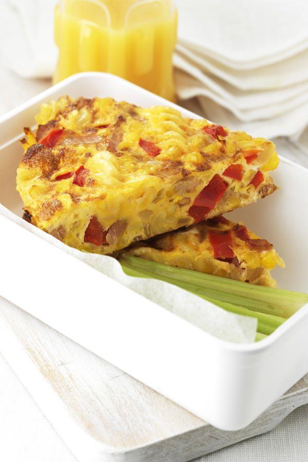 Pasta Frittata #EggsAsEasyAs #recipe | BREAKFAST & BRUNCH IDEAS | P…