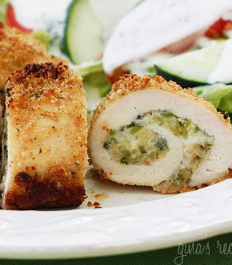 Chicken Rollatini Stuffed with Zucchini and Mozzarella!!! Filled with ...