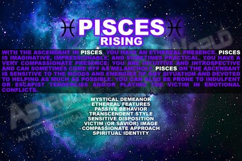 Pisces (Rising Sign)   Tools Astrology/Zodiac   Pinterest