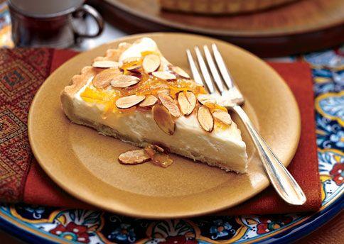 Cream Cheese Crostata with Orange Marmalade: Recipe: bonappetit.com