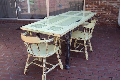 Outdoor Door Table