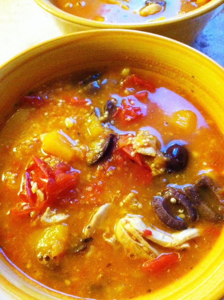 Hearty Chicken Stew with Butternut Squash & Quinoa | Recipe