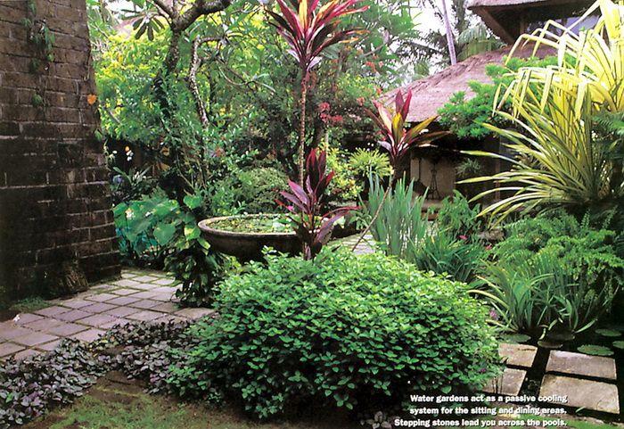 Bali garden exotic gardens pinterest for Bali garden designs