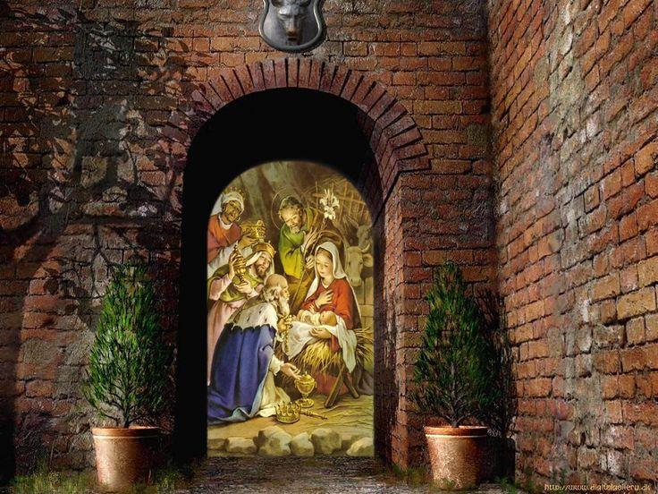 CHRISTMAS Jesus Desktop Screensavers | Jesus christ nativity Wallpaper