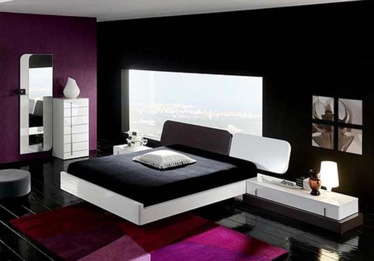 purple and black bedroom new bedroom ideas pinterest