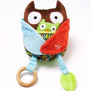 Babies are loving these Hug & Hide Owl Activity Toys.