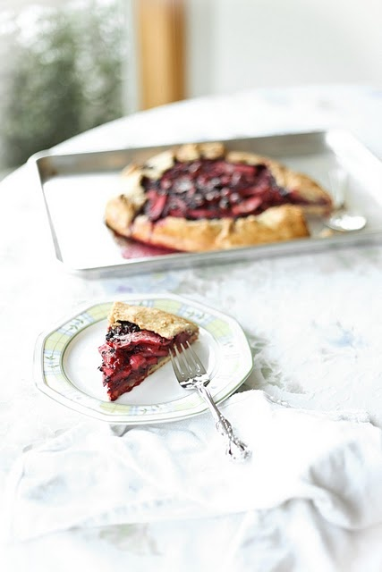 Pear Berry Galette