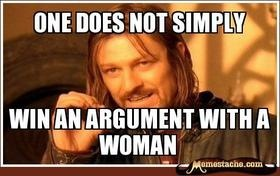 One does not simply….