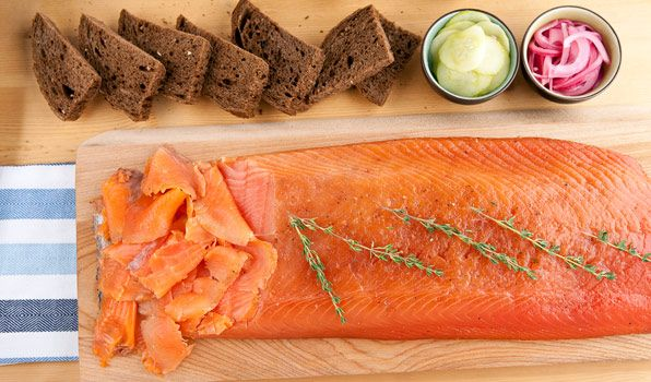 Citrus Cured Salmon. I've always wanted to make something like this ...