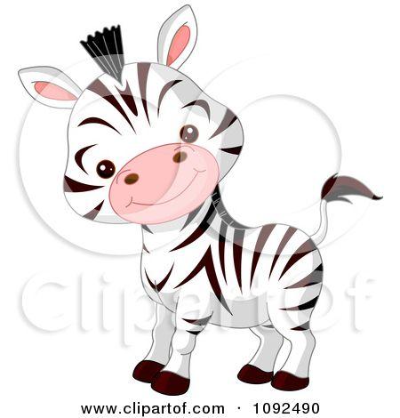 zebra face clip art