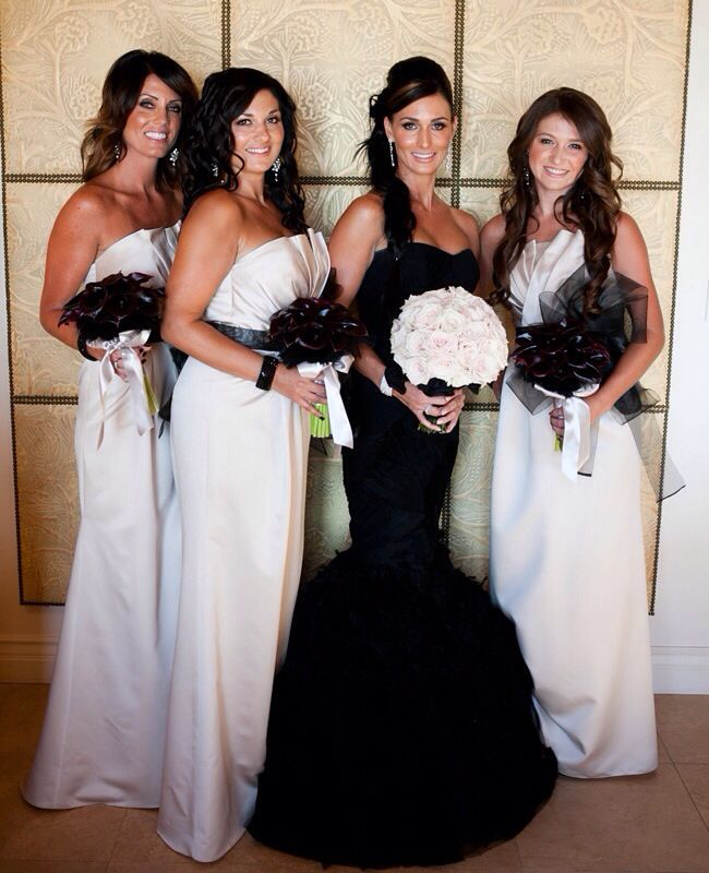 Black Wedding Dress Instead Of A White Wedding Ideas Pinterest