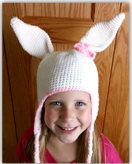 Free Crochet Pattern For Bunny Ears : Pin by Mary Ann Von Aschen on Baby & toddler and kids ...
