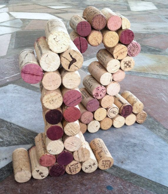 Wine Cork Table Numbers Great for Weddings or by KrystlesWeddings, $9.50