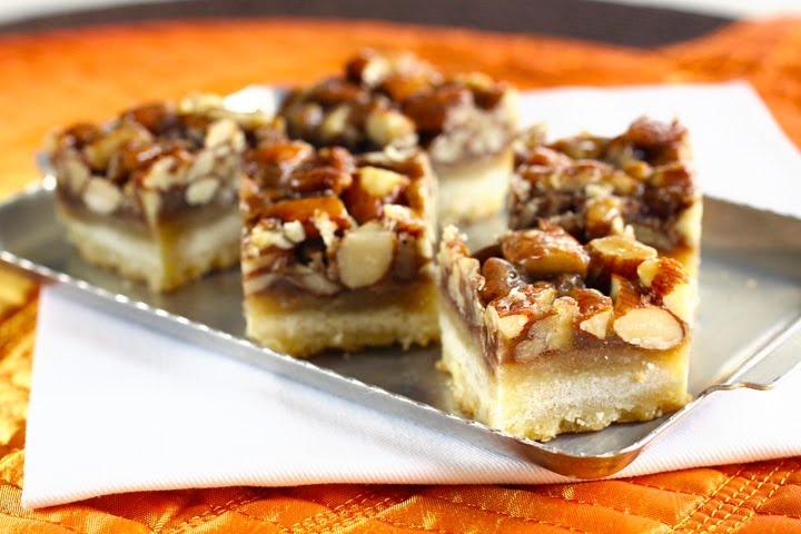 ButterYum's Vanilla Nut/Honey Nut Bars | Brownies & Bars | Pinterest