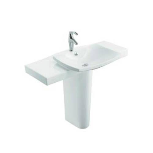 Kohler Square Sink : Kohler K-18691-1 Escale Fireclay 39-3/4