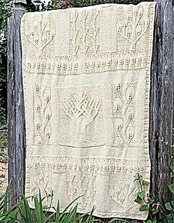 Free Knitting Pattern Wedding Afghan : CELTIC TREE OF LIFE KNITTING PATTERN   KNITTING PATTERN