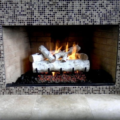 White Birch Gas Logs Build It Pinterest