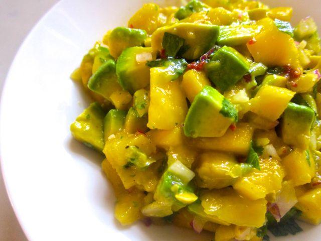 Mango, avocado, chipotle salsa | YUMMY in my tummy :) | Pinterest