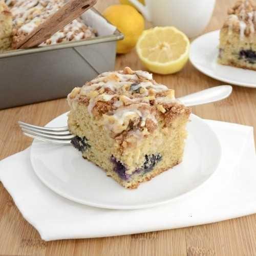 BLUEBERRY-LEMON COFFEE CAKE | Food and Drink | Pinterest