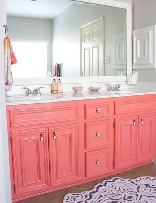 Coral vanity! Omg I love love love this :)