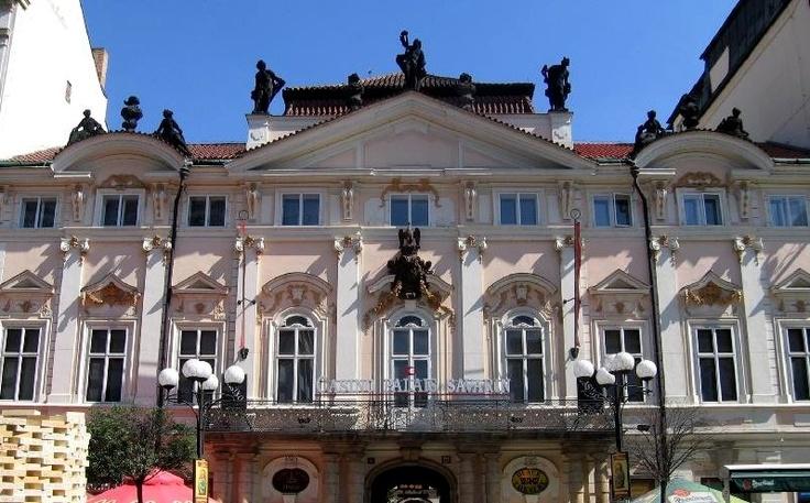 Photo of building facade, Old Town, Prague