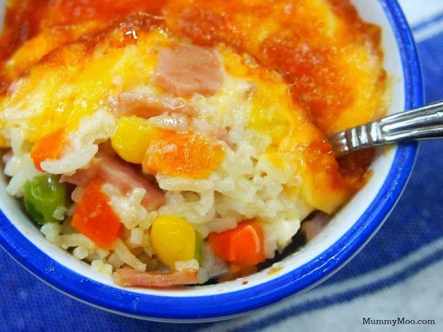 Cheesy Baked Rice | Yummy in my tummy... | Pinterest