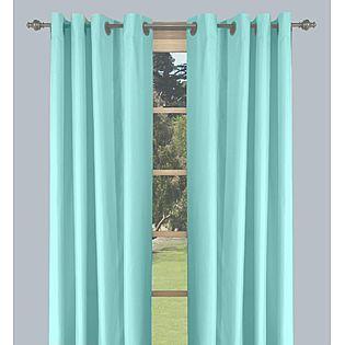 aqua blue curtains le bebe pinterest