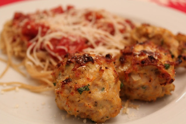 Baked Turkey Meatballs | So savory | Pinterest