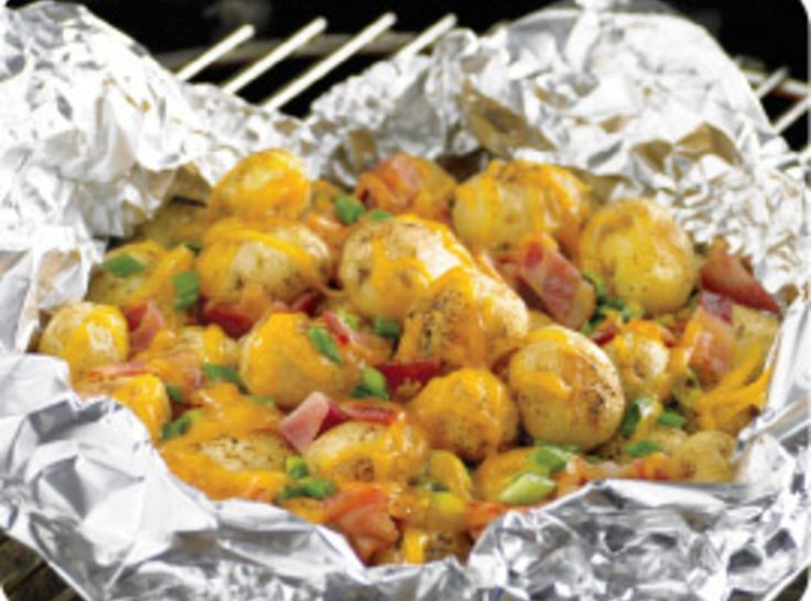 Loaded Potatoes Grill Style