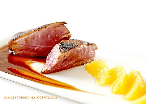 Duck a L'Orange (Breast of Muscovy Duck with Orange and Figs) Recipe