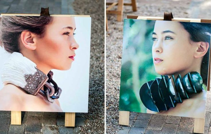 Karla Maxine Kruger neckpieces - exhibition