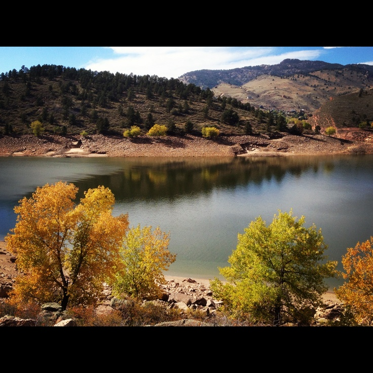 Fort Collins Colorado: Horsetooth Reservoir By Fort Collins, CO