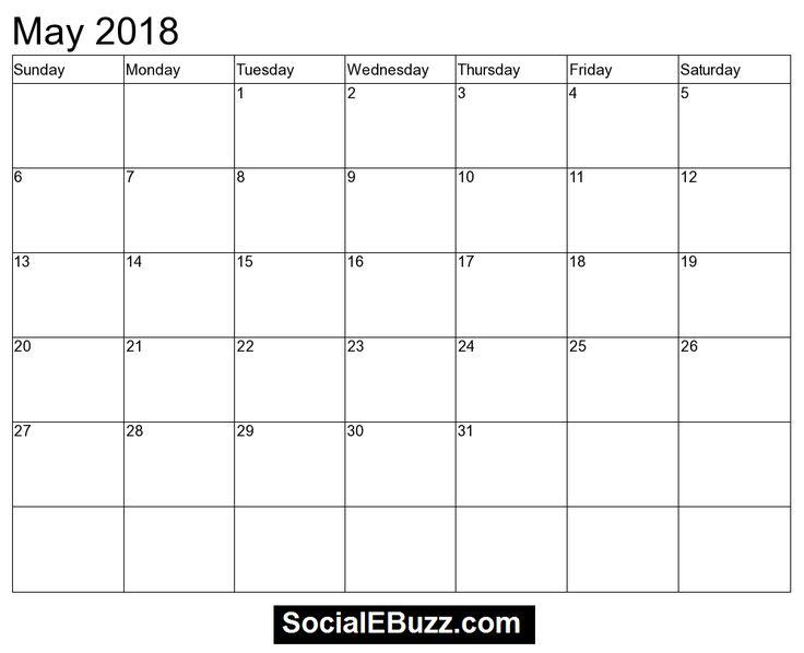 25+ unique May 2018 calendar ideas on Pinterest | Magic goals ...