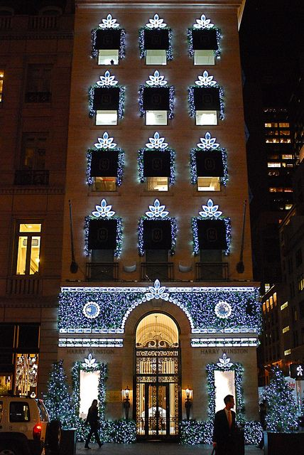 The Bejeweled House of Harry Winston on Fifth Avenue, NYC