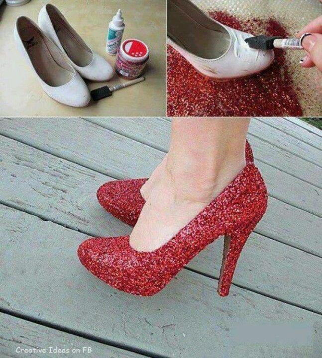 Обновете старите си обувки!