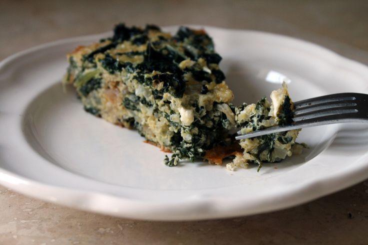 Crustless Quinoa and Kale Quiche | Yummies | Pinterest