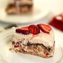 Vanilla, Strawberry And Fudge Ice Cream Dessert Recipes — Dishmaps