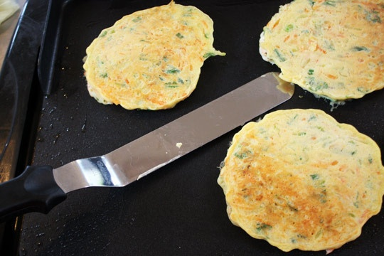 Healthier Zucchini & Carrot Stuffed Fritters | Recipe