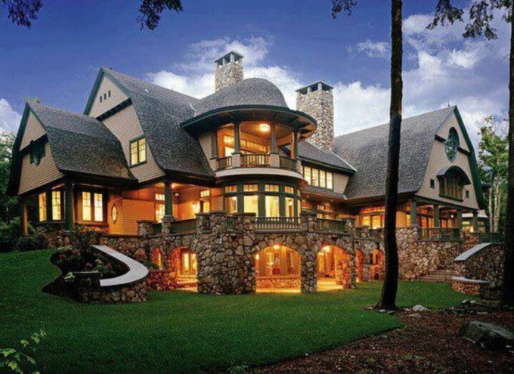 Love this house made of stone favorite places spaces for Different types of stone for houses