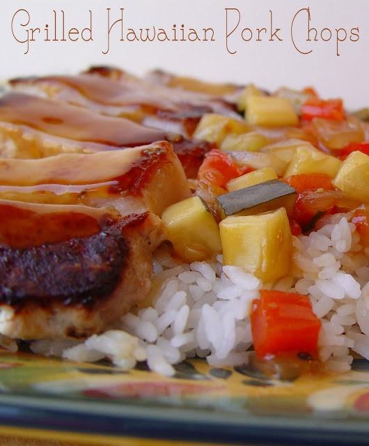 Grilled Hawaiian Pork Chops | Meat! | Pinterest