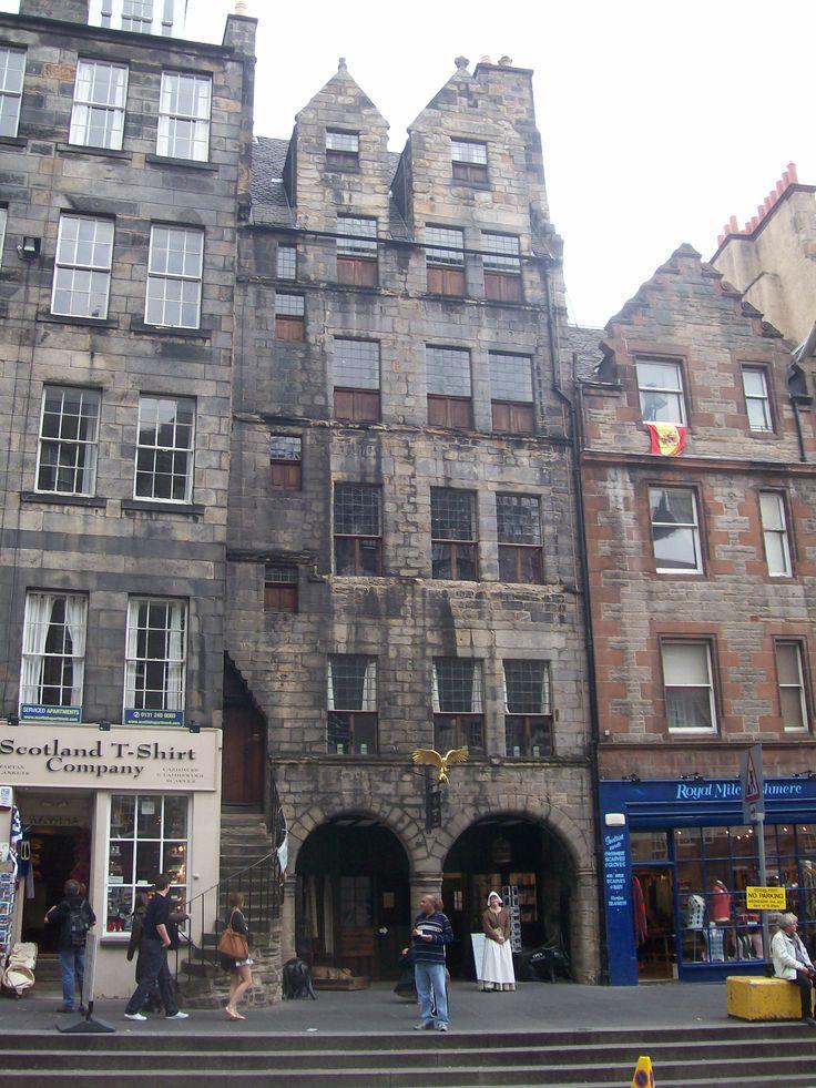 Oldest House In Edinburgh Scotland Pinterest