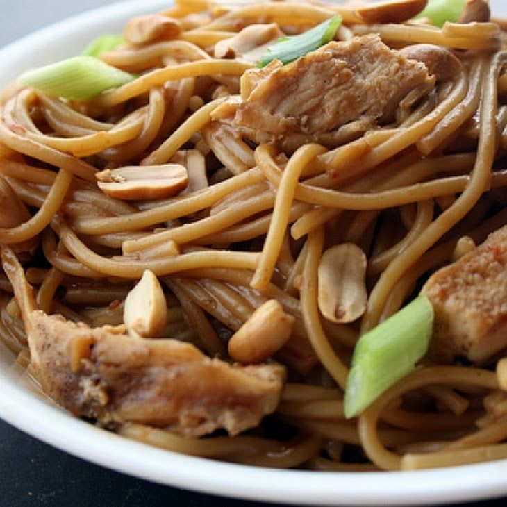 Peanut Butter Noodles Recipe | food | Pinterest