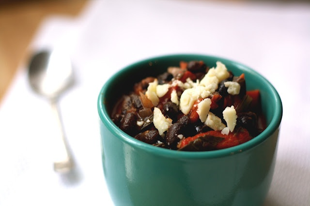 Black Bean Chili with Swiss Chard | Soups | Pinterest