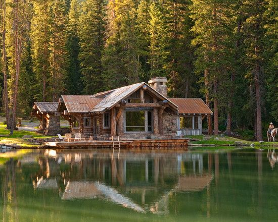 Log Cabin Perfect Love Log Cabins Living Pinterest
